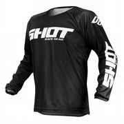 Shot Devo Raw MX Jersey Black